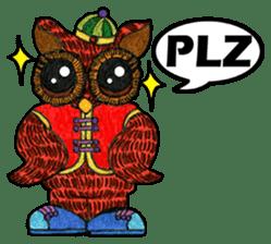 OWL Museum 3 sticker #3746438