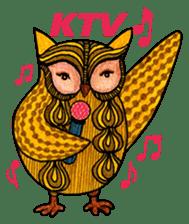 OWL Museum 3 sticker #3746444