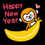 สติ๊กเกอร์ไลน์ สวัสดีปีใหม่ 2016