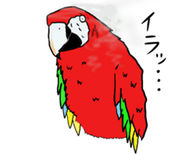 Mr.Parrot. sticker #3759899