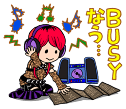 STICKER FOR LOVERS OF Visual-Kei BAND sticker #3764339