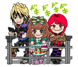 STICKER FOR LOVERS OF Visual-Kei BAND sticker #3764347