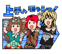 STICKER FOR LOVERS OF Visual-Kei BAND sticker #3764349