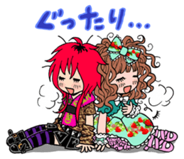 STICKER FOR LOVERS OF Visual-Kei BAND sticker #3764359