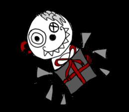 Frida Mortem sticker #3766621