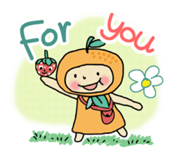 Ichigo Chan and friend.(Eng) sticker #3770159