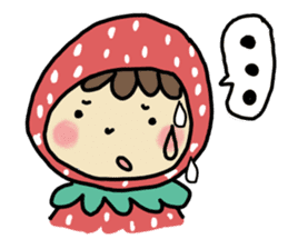 Ichigo Chan and friend.(Eng) sticker #3770173