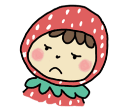 Ichigo Chan and friend.(Eng) sticker #3770176