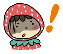 Ichigo Chan and friend.(Eng) sticker #3770179