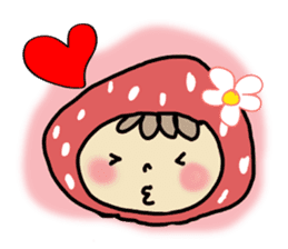 Ichigo Chan and friend.(Eng) sticker #3770183