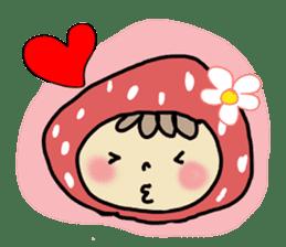 Ichigo Chan and friend.(Eng) sticker #3770183