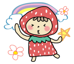 Ichigo Chan and friend.(Eng) sticker #3770187