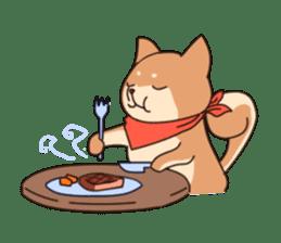 Chibi Shiba Kun sticker #3770361