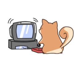 Chibi Shiba Kun sticker #3770364