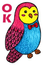OWL Museum 2 sticker #3780774