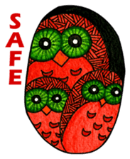 OWL Museum 2 sticker #3780790