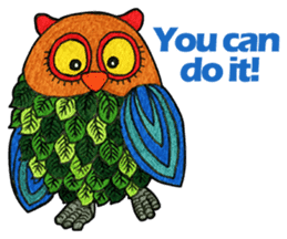OWL Museum 2 sticker #3780801