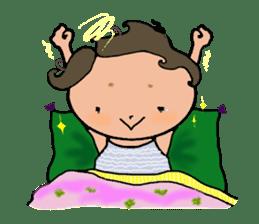 Ripe cute Women of happiness every day sticker #3784662