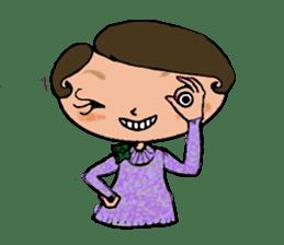 Ripe cute Women of happiness every day sticker #3784666