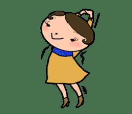 Ripe cute Women of happiness every day sticker #3784671