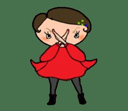 Ripe cute Women of happiness every day sticker #3784683