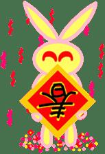 Felice's rabbit family sticker #3784856