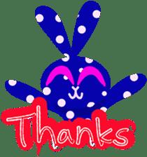 Felice's rabbit family sticker #3784865
