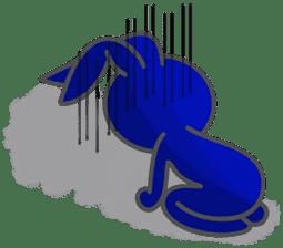 Felice's rabbit family sticker #3784881