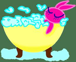 Felice's rabbit family sticker #3784886
