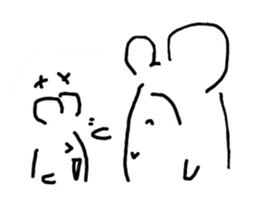 A hamster and pleasant friends. sticker #3785482