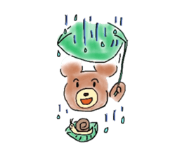 A hamster and pleasant friends. sticker #3785486