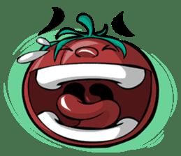 Crazy Tomato sticker #3788780