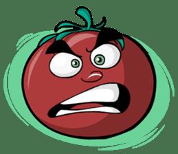 Crazy Tomato sticker #3788782
