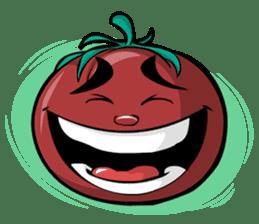 Crazy Tomato sticker #3788784