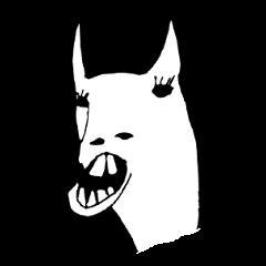 Llama with buckteeth