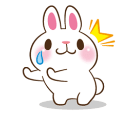 Molly the rabbit sticker #3811292