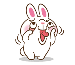 Molly the rabbit sticker #3811296
