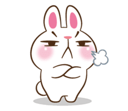 Molly the rabbit sticker #3811307