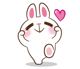 Molly the rabbit sticker #3811309