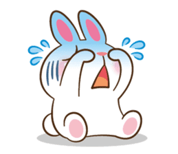 Molly the rabbit sticker #3811313