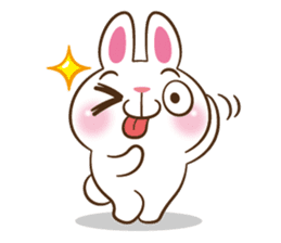Molly the rabbit sticker #3811321