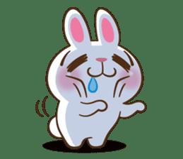 Molly the rabbit sticker #3811323