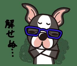 iinu - Boston Terrier sticker #3812533
