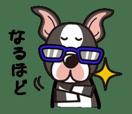 iinu - Boston Terrier sticker #3812534