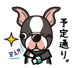 iinu - Boston Terrier sticker #3812535