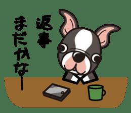 iinu - Boston Terrier sticker #3812536