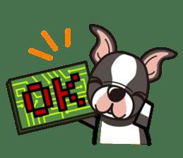 iinu - Boston Terrier sticker #3812539