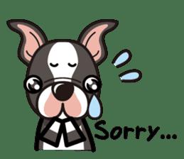 iinu - Boston Terrier sticker #3812542