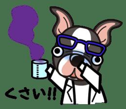 iinu - Boston Terrier sticker #3812544