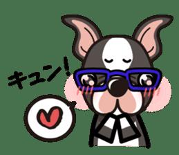 iinu - Boston Terrier sticker #3812545